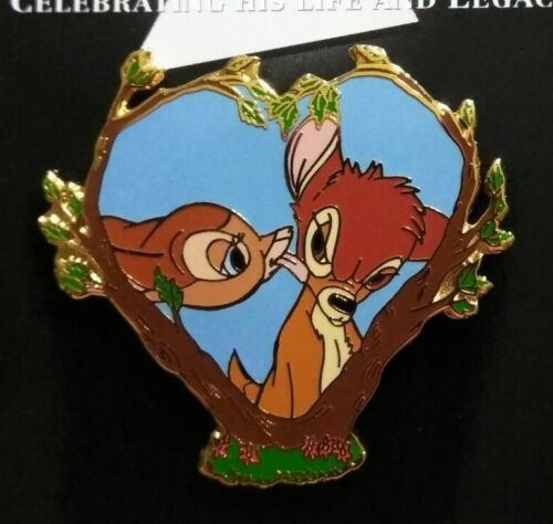 Disney Japan 100 Year Kiss Bambi LE Pin