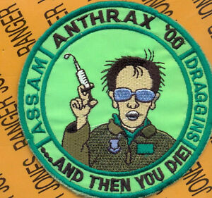 USAF-25th-Fighter-Squadron-FS-A-10-Anthrax-2000-patch