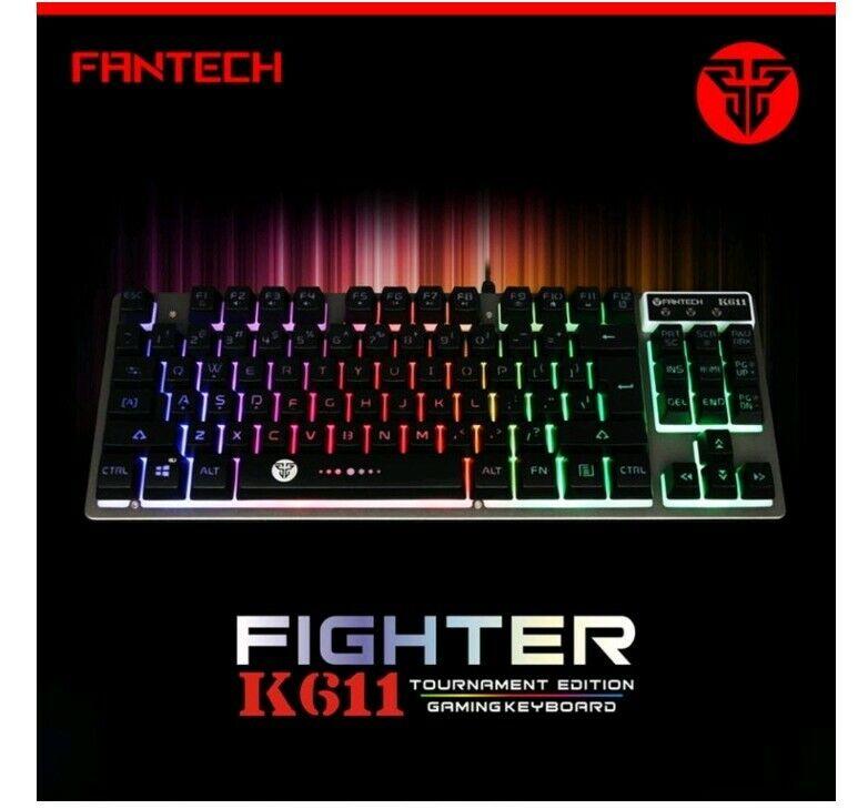 Fantech FIGHTER K611 Backlit Gaming Keyboard