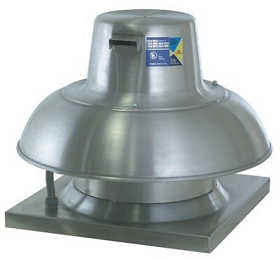 Captive-aire Systems Inc. Commercial High Speed Downblast Exhaust Fan .25hp