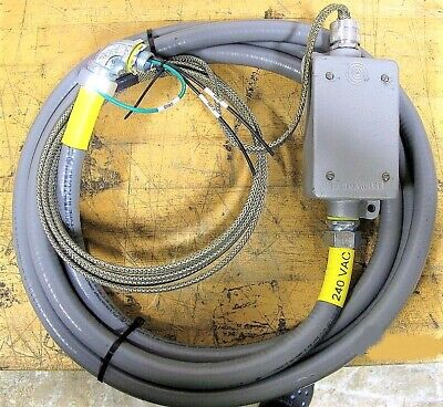 22 Foot Heat Trace Tape Cable 240v 1 Phase Water Tight Self-regulating C0s2