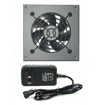 PROCOOL AVM-180T Silent AV cabinet cooling fan with Mounting Plate for sale  Shipping to India