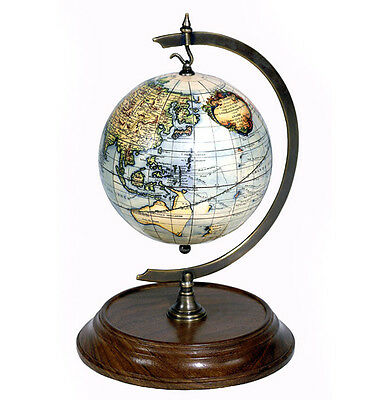 Robert De Vaugondy 1745 Terrestrial Hanging World Globe With Stand