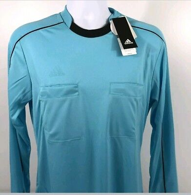 ADIDAS Mens Referee 16 Climacool L S Jersey Soccer Football Top Size M NEW   65 7a3247b978d