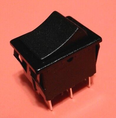 NEW On-On DPDT 6 Pin Rocker switch SHIPS FROM USA FREE 12v power wheels 00801