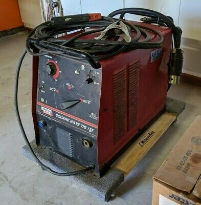 Lincoln Square Wave Tig 175 Welder - Used