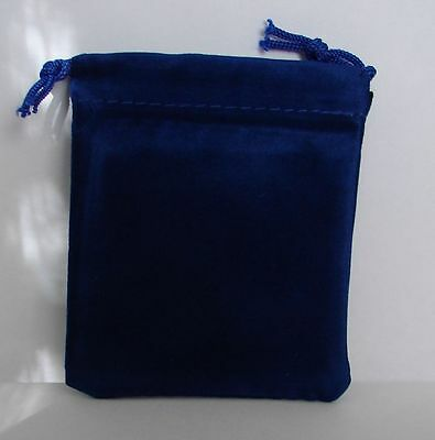 12 Black Velvet Drawstring Jewelry Or Coin Gift Bags - Pouches - 3 14 X 2 34