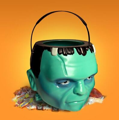 Universal Monsters Frankenstein Head Candy Bucket Eimer Kopf - Halloween Candy Eimer