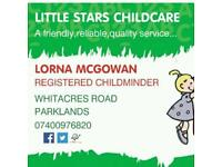 Experienced Registered Childminder