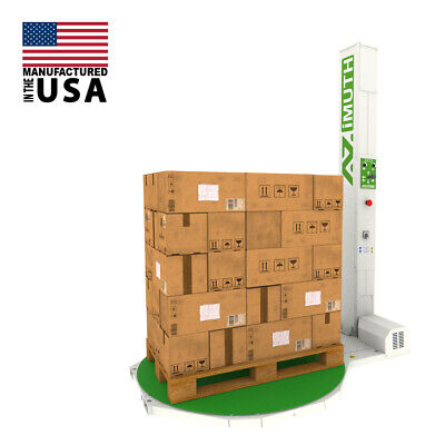 New 59 Dia 85 Tall Pallet Stretch Wrapper Shrink Wrapping Machine Made In Us