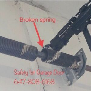 Safety 1st Garage Door Spring and Cable Repair 647-808-6168