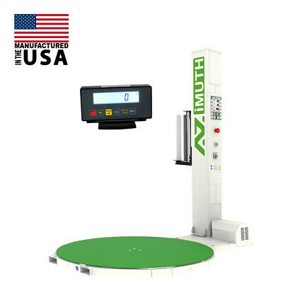 New Scale 65 Dia 85 Tall Pallet Stretch Wrapper Shrink Wrapping Machine