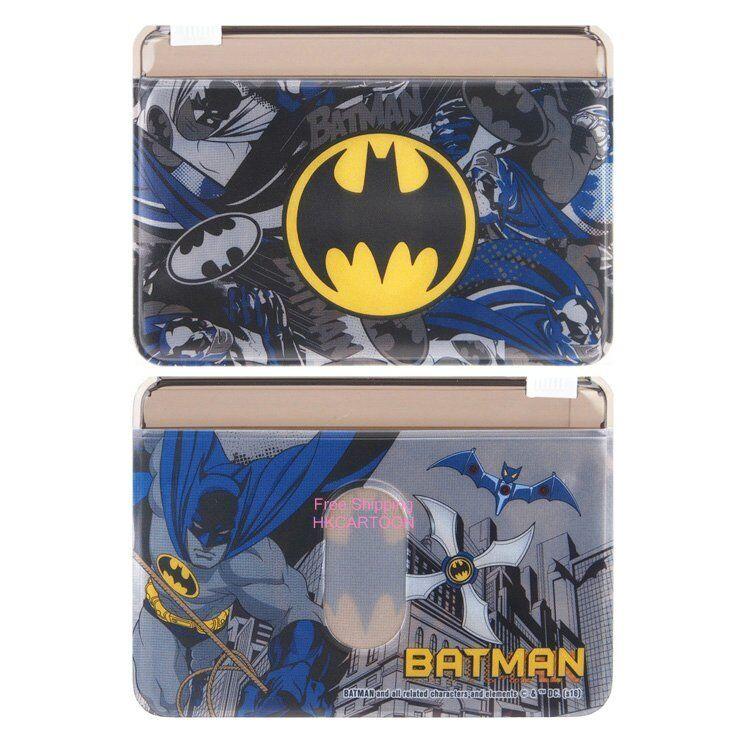 9d9527ff8b5abf SANRIO KITTY MELODY DORAEMON BATMAN TWO LAYERS PVC CARD HOLDER W  ZIPPER  6183