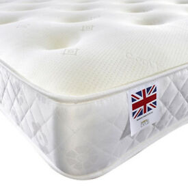 BRAND NEW MEMORY POCKET 3FT SINGLE 4FT6 DOUBLE 5FT KINGSIZE MATTRESS FREE DELIVERY 9EC