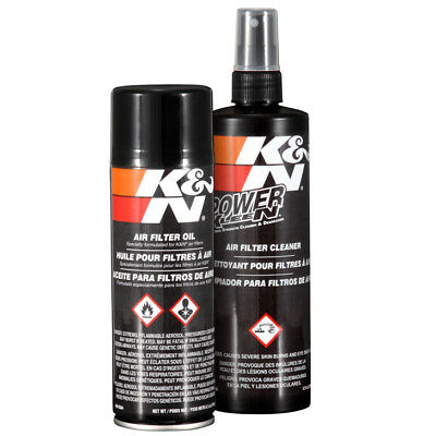 K&N 99-5000 Recharger Air Intake Filter Cleaning Kit Cleaner & Spray Oil