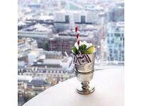 Bar Waiter / Waitress - City Social - Bar & Michelin Star Restaurant - Sundays Off