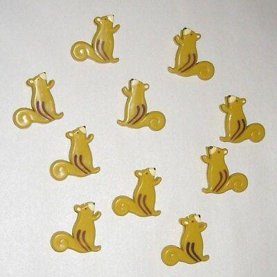 10 Cute Fun Squirrel Shaped Paper Clips School - Kids