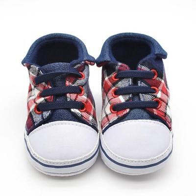 @@Newborn Baby Canvas Soft Sole Shoes Kids Toddler Boys Girls Shoes Sneakers 11