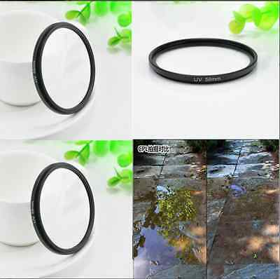 Circular Polarizing UV Filter Lens Protector for Canon Rebel 18-55mm New