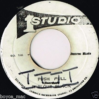 "studio 1 7"" : PABLOVE BLACK-push pull   (hear)    killer dub"