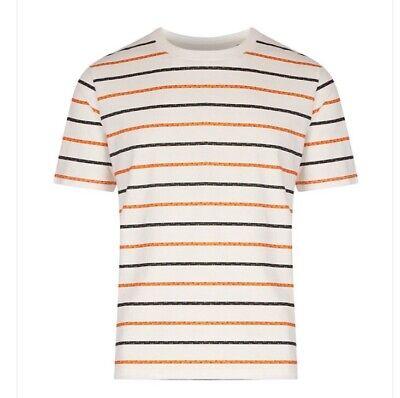 hymn london Men's Ropes T-Shirt White Size M