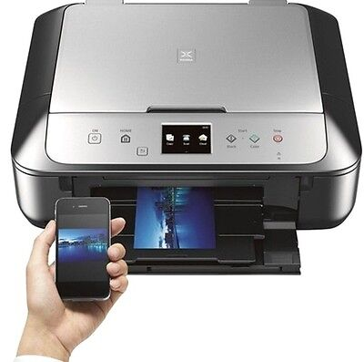 Canon Pixma Mg6821 Wireless Inkjet Photo All In One Printer  New With Inks