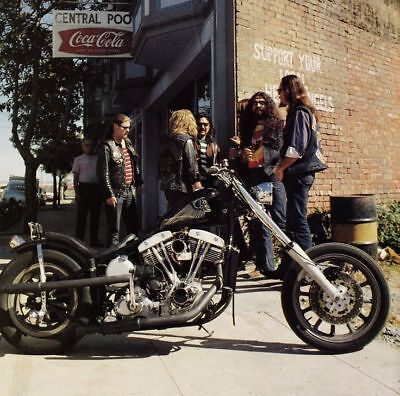 Hells Angels Hangout Central Pool Hall Great High Gloss 8.5x11 Photo Grainey