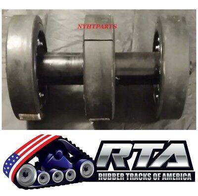 10 Bogie Group With Duroforce Rubber Wheels Fits Asv Rcv Rc100 0703-191