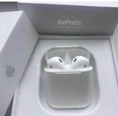 100% Genuine Apple AirPods 2 With Wireless Charging Case 2nd Generation air pod
