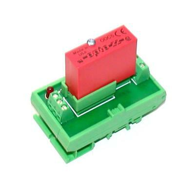 Opto 22  Odc5  Solid State Relay Wphoenix Contact Din Mount Output Module