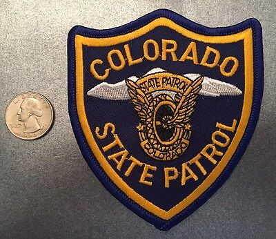 Colorado State Patrol Trooper Police Patch Co
