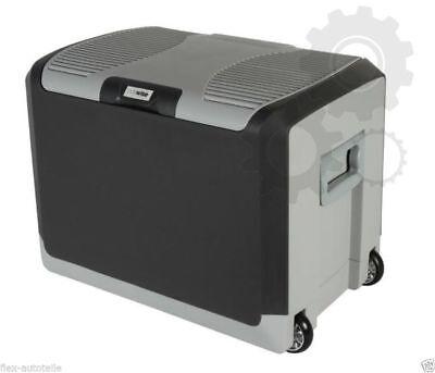 PKW Auto KFZ LKW Kühlbox 40L 12V / 230V Mini Kühlschrank Thermobox mit Rollen