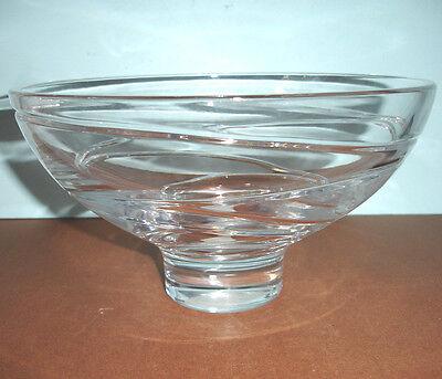 Jasper Conran AURA by Wedgwood Large Footed Crystal Bowl 10