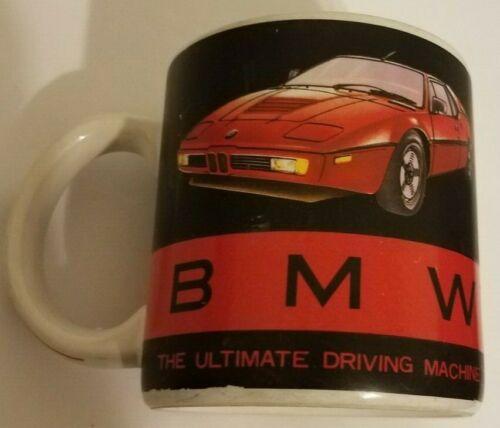 Vintage BMW Mug The Ultimate Driving Machine Rare 1980