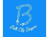 Bath Community Choir - no auditions, no subscriptions, no pressure!