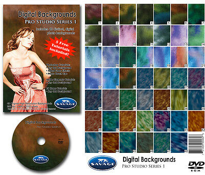 Savage Chroma Key Digital Background DVD Pro Studio Background (Chroma Key Digital Backgrounds)