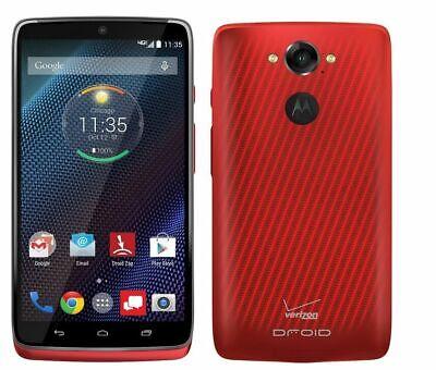 Motorola DROID Turbo XT1254 32GB Verizon CDMA  Smartphone - Red