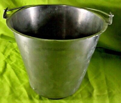Adcraft Stainless Steel 13 Quart Bucket Pail Ps-13 Food Processing Equipment