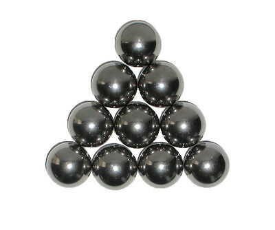 Ten 1 Inch Soft Polish Precision Carbon Steel Balls Can Be Machined
