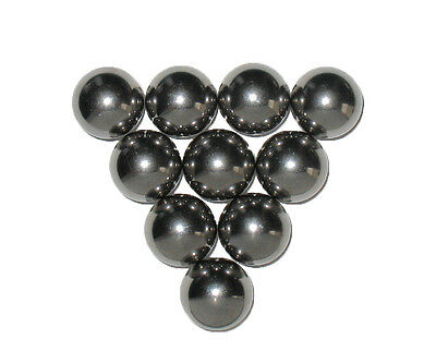 1316 Inch Chrome Steel Ball Monkey Fist Cores Qty 10 Made In Usa