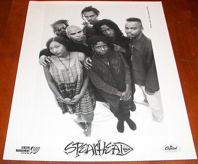 Spearhead 8x10 B&W Press Photo Capitol Records 1994 Michael Franti