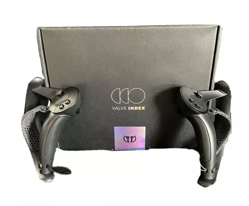 Valve Index VR Knuckle Controllers ONLY - Lightly Used