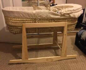 Moses basket was over £130 with stand now £25 only