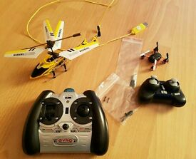 Micro RC Helicopter & quadcopter