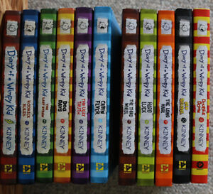 Diary of A Wimpy Kid: entire set (11 books) mint condition