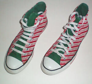 Converse All Stars Limited Edition Candy Stripe Size 9 Womens London Ontario image 1
