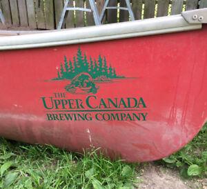 15 ft Evergreen canoe