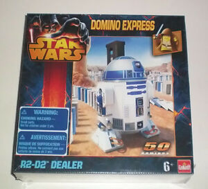 Star Wars New Domino Express Game R2D2 50 Pc Auto Dealer