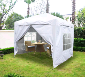 NEW Pop Up Gazebo 2x2m Marquee Garden Canopy - ALL SIDES - £95 each