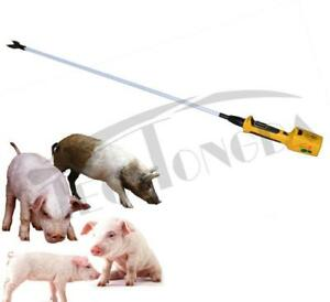 52 Hot-Shot Electric Livestock Prod Cattle Pig Wand AC and DC 154026